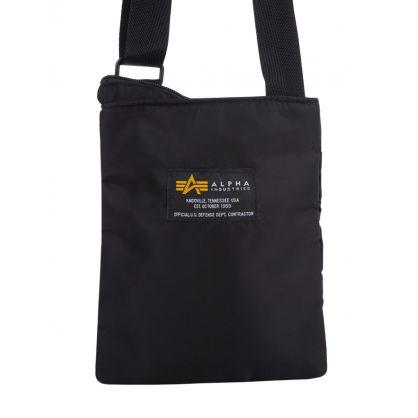 Black Crew Messenger Bag