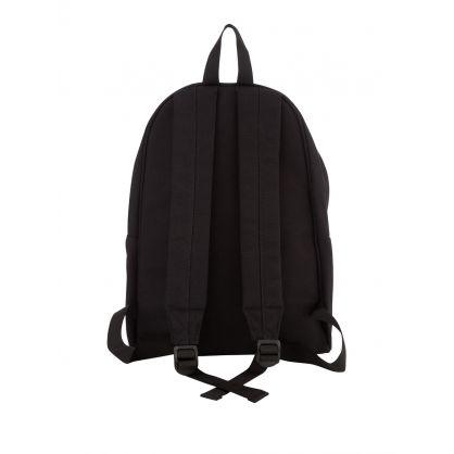 Black Script Logo Backpack