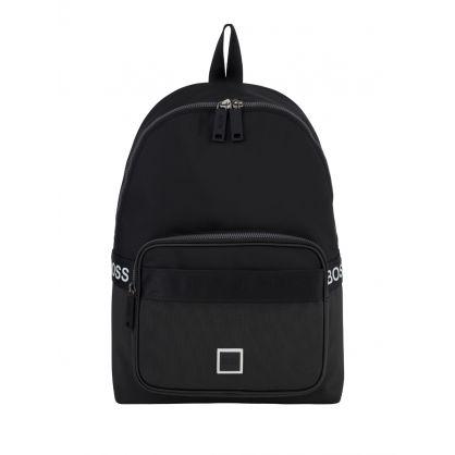Black Pixel Logo Backpack