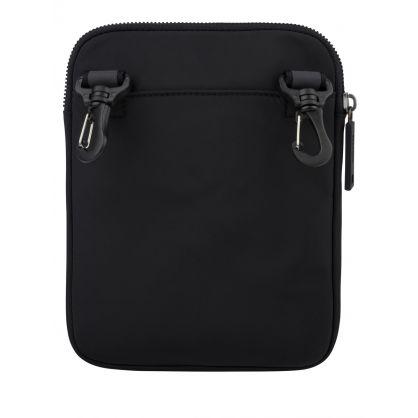 Black Krone Crossbody Bag