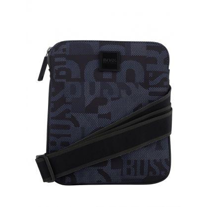 Black Pixcam214 Zip Envelope Bag