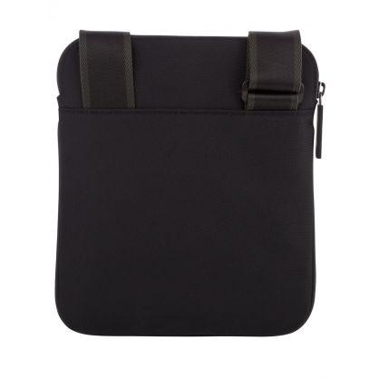Black Pixel Zip Envelope Bag