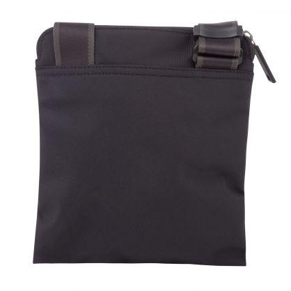 Black Pixel Logo Reporter Bag