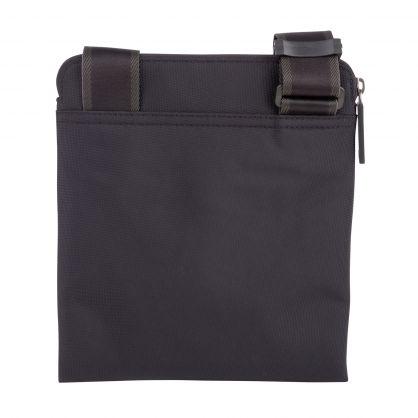 Black Hexagon Cross Body Bag