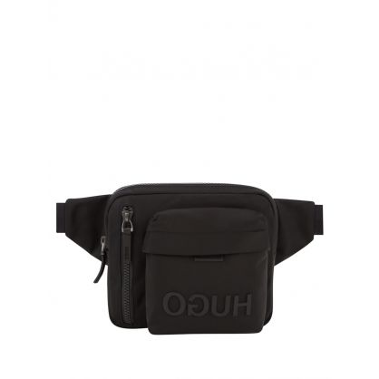 Black Record Waist Bag