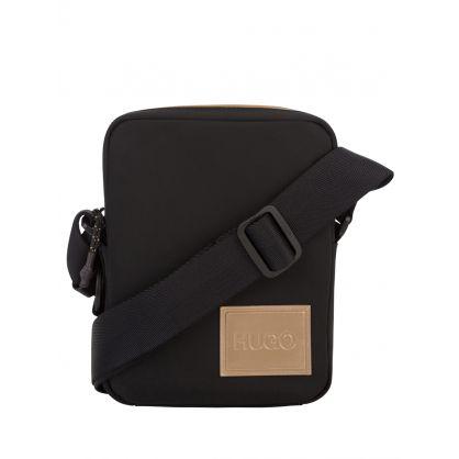 Black Record LG_NS Reporter Bag