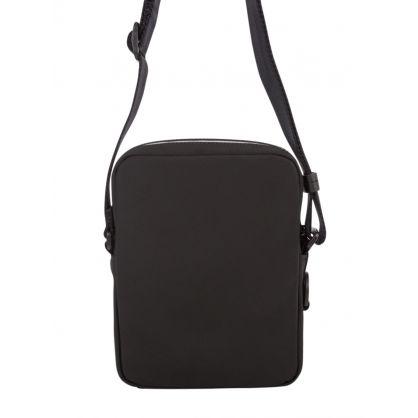 Black/Silver Record LG_NS Reporter Bag