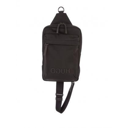 Black Record Monostrap Bag