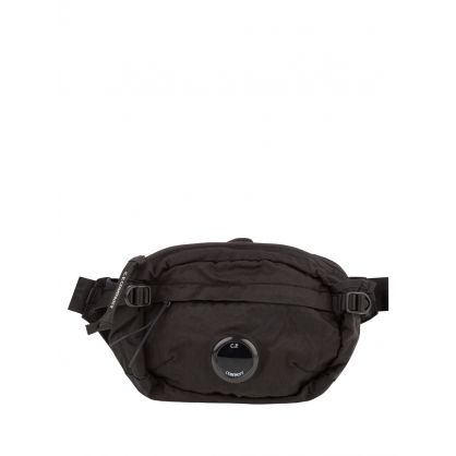 Black Nylon B. Crossbody Lens Pack Bag