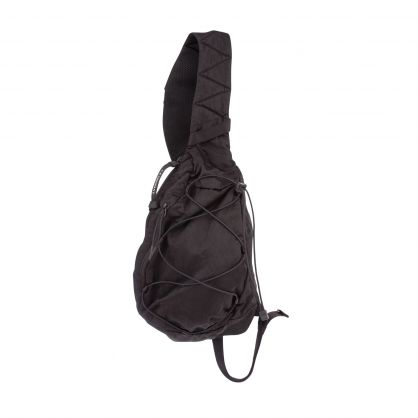 Black Nylon B Crossbody Lens Backpack