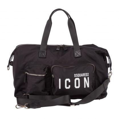 Black ICON Duffle Bag