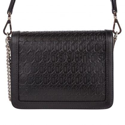 Black Chained2 Shoulder Bag