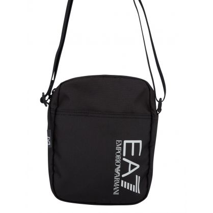 Black Train Logo Pouch Bag
