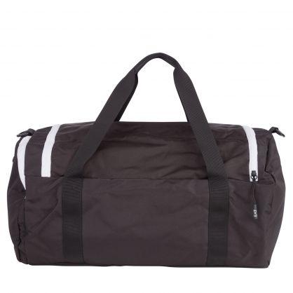 Black Logo Gym Bag