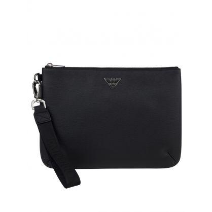 Black Eagle Logo Messenger Bag