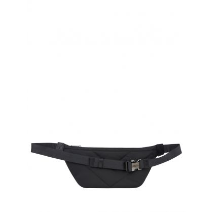 Black Tape Logo Waist Bag