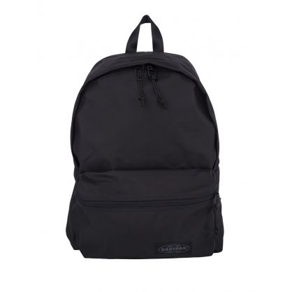 Black Padded Streamed Backpack