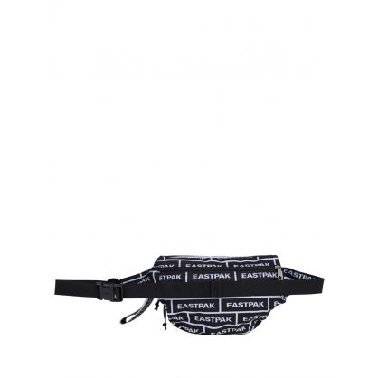 Black Springer XXL Bold Branded Waist Bag