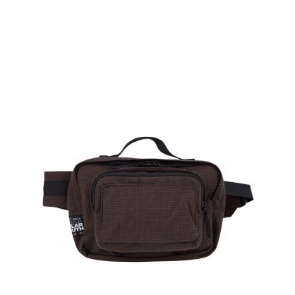 x Raf Simons Green Loop Waist Bag