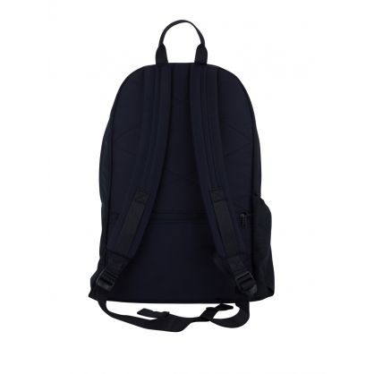 Navy Padded Double Backpack