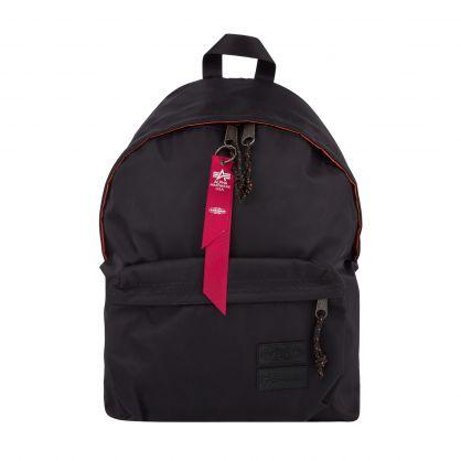 Black Padded Pakr Backpack