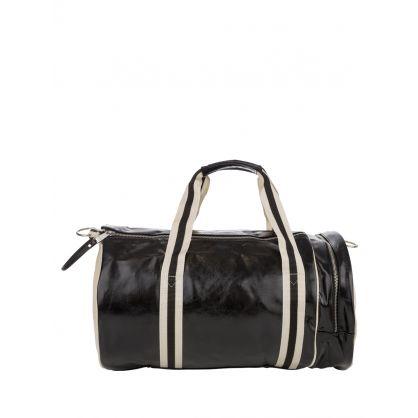 Black/Ecru Classic Barrel Bag