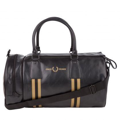 Black Refined Webbing Grip Bag
