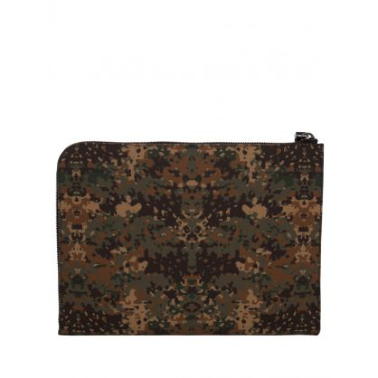 Green Fabian Clutch Bag