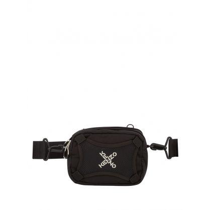 Black Sport 'Little X' Crossbody Bag