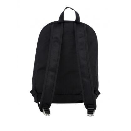 Black Paris Canvas Kampus Tiger Backpack