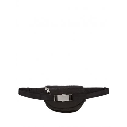 Black Kampus Tiger Mini Waist Bag