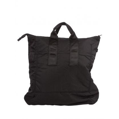 Black Recycled Fleece Tote Bag