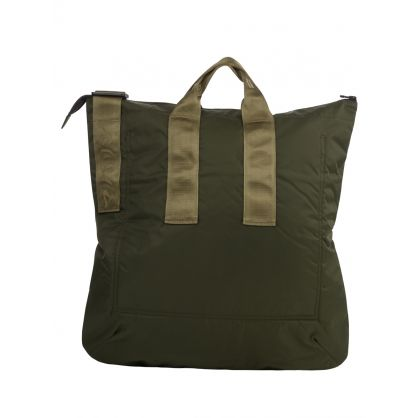Green Recycled Fleece Tote Bag