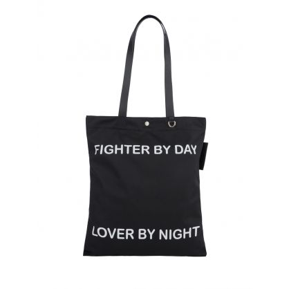 Black Fighter By Day Bag