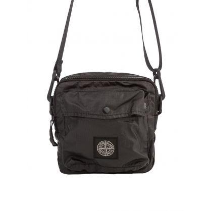 Black Logo-Appliqué Waist Bag