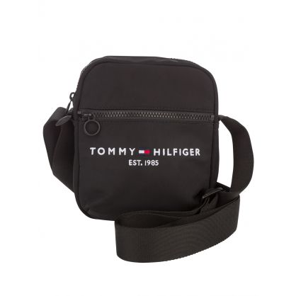 Black Established Mini Reporter Bag