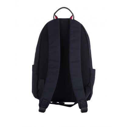 Navy Signature Colour-Blocked Backpack