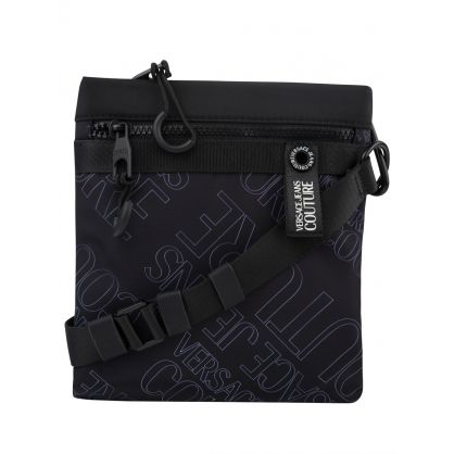 Black Monogram Crossbody Bag
