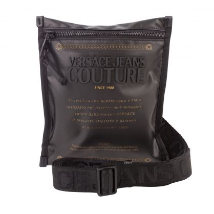 Black Sketch Label Bag