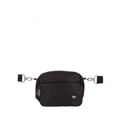 Black Marlo Shoulder Bag