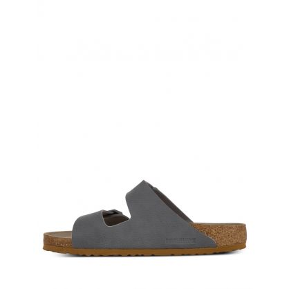 Grey Arizona Soft Footbed Birko-Flor Sandals
