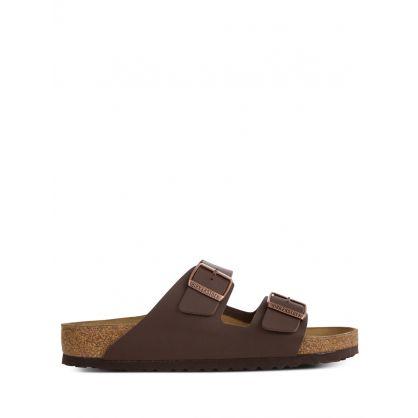 Brown Arizona Birko-Flor Sandals