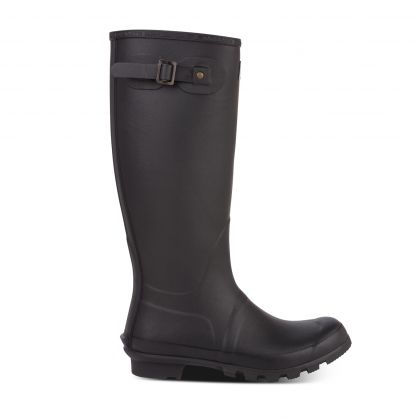 Black Bede Wellington Boots