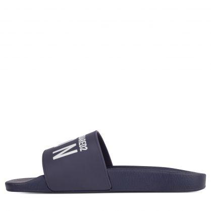 Dark Blue Be ICON Slides