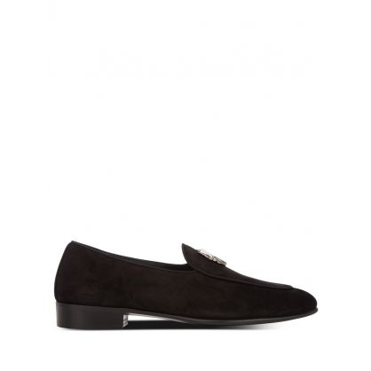 Black Suede Rudolph Wild Loafers