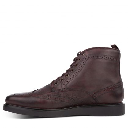 Brown Calverston Brogue Boots