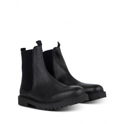 Black Brahms Chelsea Boots