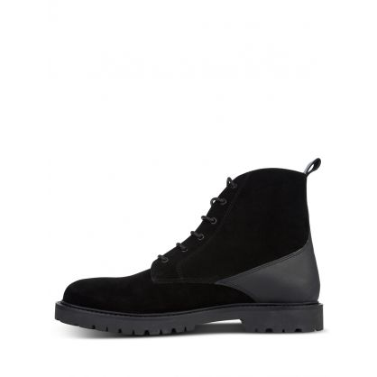 Black Perry Suede Boots