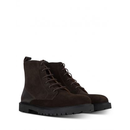 Brown Perry Suede Boots