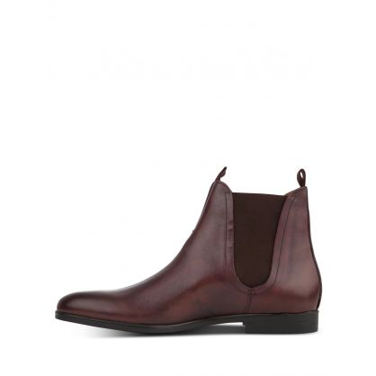Brown Atherstone Leather Chelsea Boots